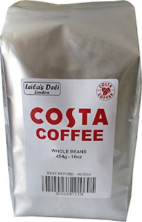 SPECIAL DISCOUNT Coffee & Espresso : Costa Professional Espresso Coffee Beans £10.00