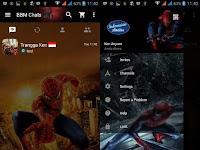 BBM MOD Tema Spiderman Based v2.12.0.11
