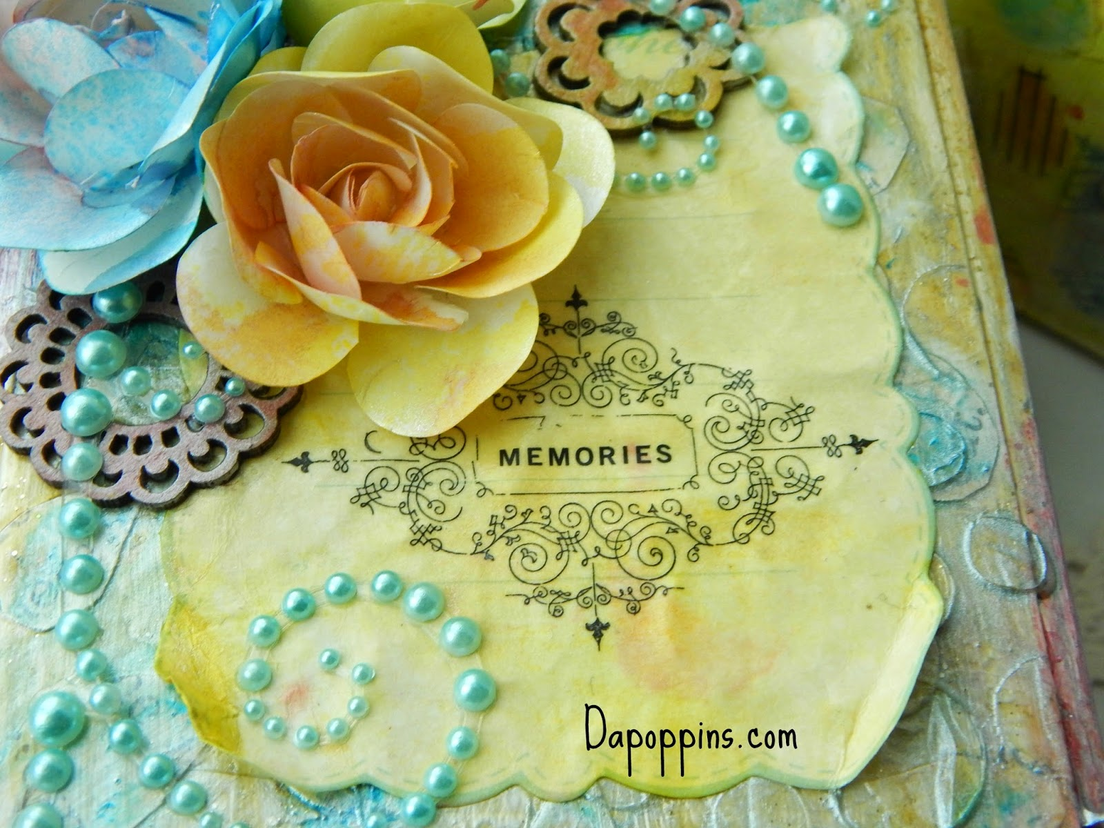 Memory Box, Baby, Pastel Colors, Tattered Angels, Dapoppins