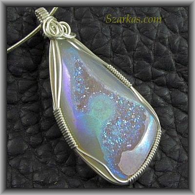 Jewelry By Szarka Opalized Druzy