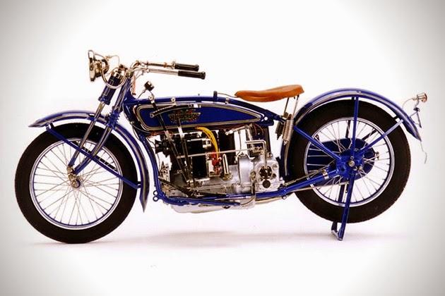 Replicas exactas en  miniatura de motos clásicas