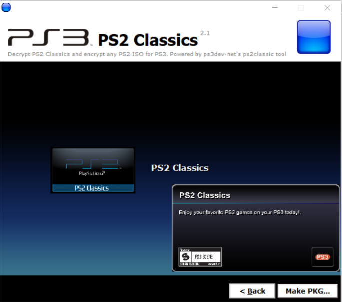 PS3 PS2 Classic GUI v2 1 (by Aldostools) - Consoleinfo