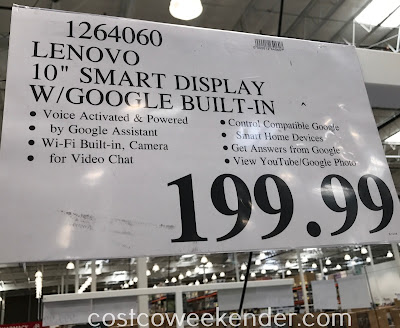 Deal for the Lenovo 10in Smart Display at Costco