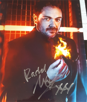 Meeting Mark Sheppard at the LFCC summer 17