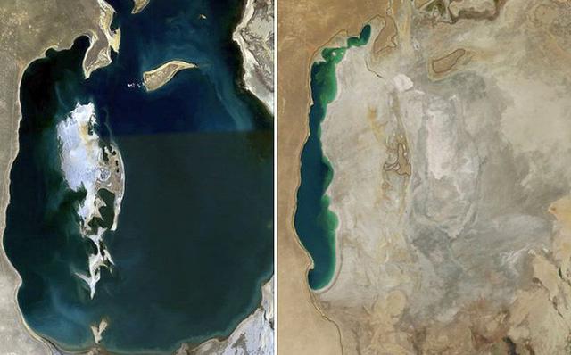 Nguyên nhân tại sao nước ở biển Aral ngày một cạn kiệt dần