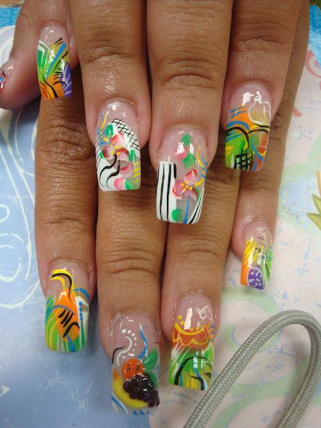 fun summer nail design
