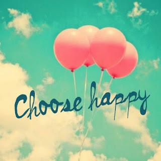 mon objectif pour cette année 2017 est de m'autoriser à à choisir le bonheur