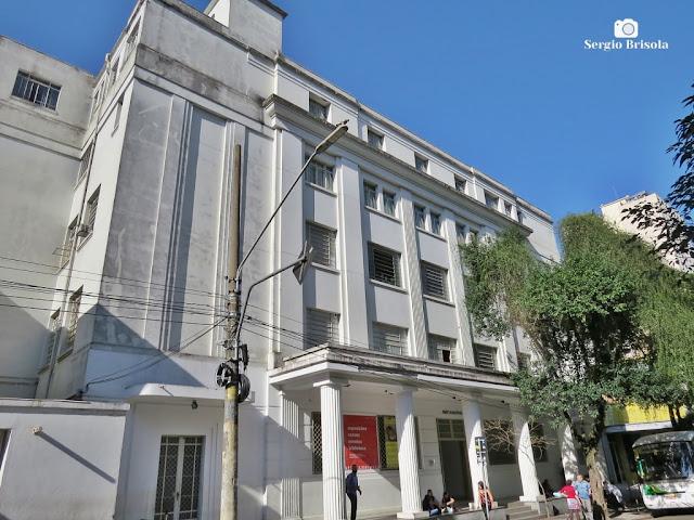 Fachada do Centro Universitário Maria Antonia (USP) - Vila Buarque - São Paulo