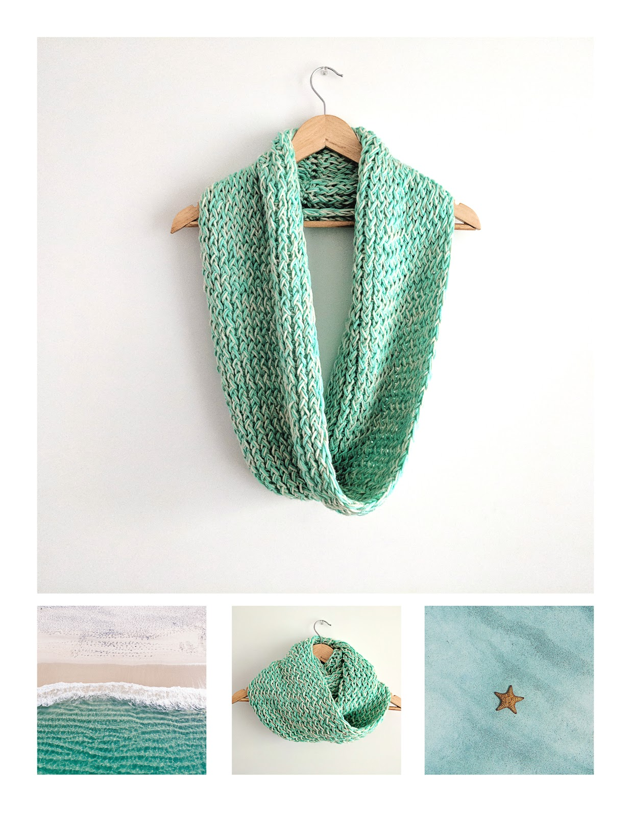 Loom Knit Infinity Scarf Pattern (Free) | Loom Knitting by This ...