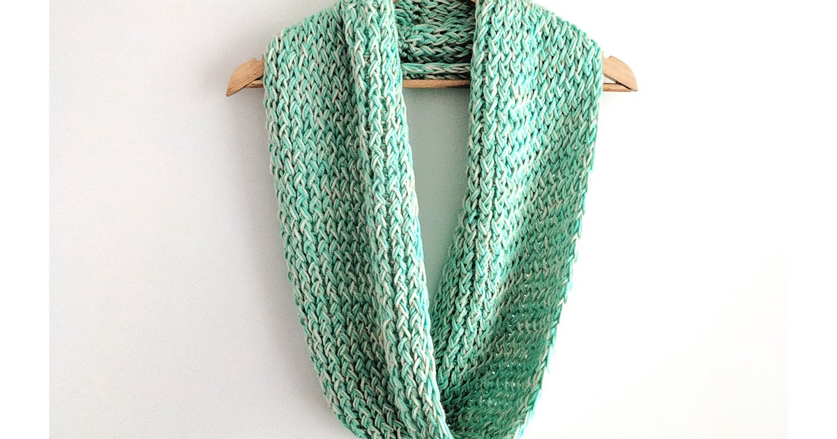Loom Knit Infinity Scarf Pattern Free Loom Knitting By This