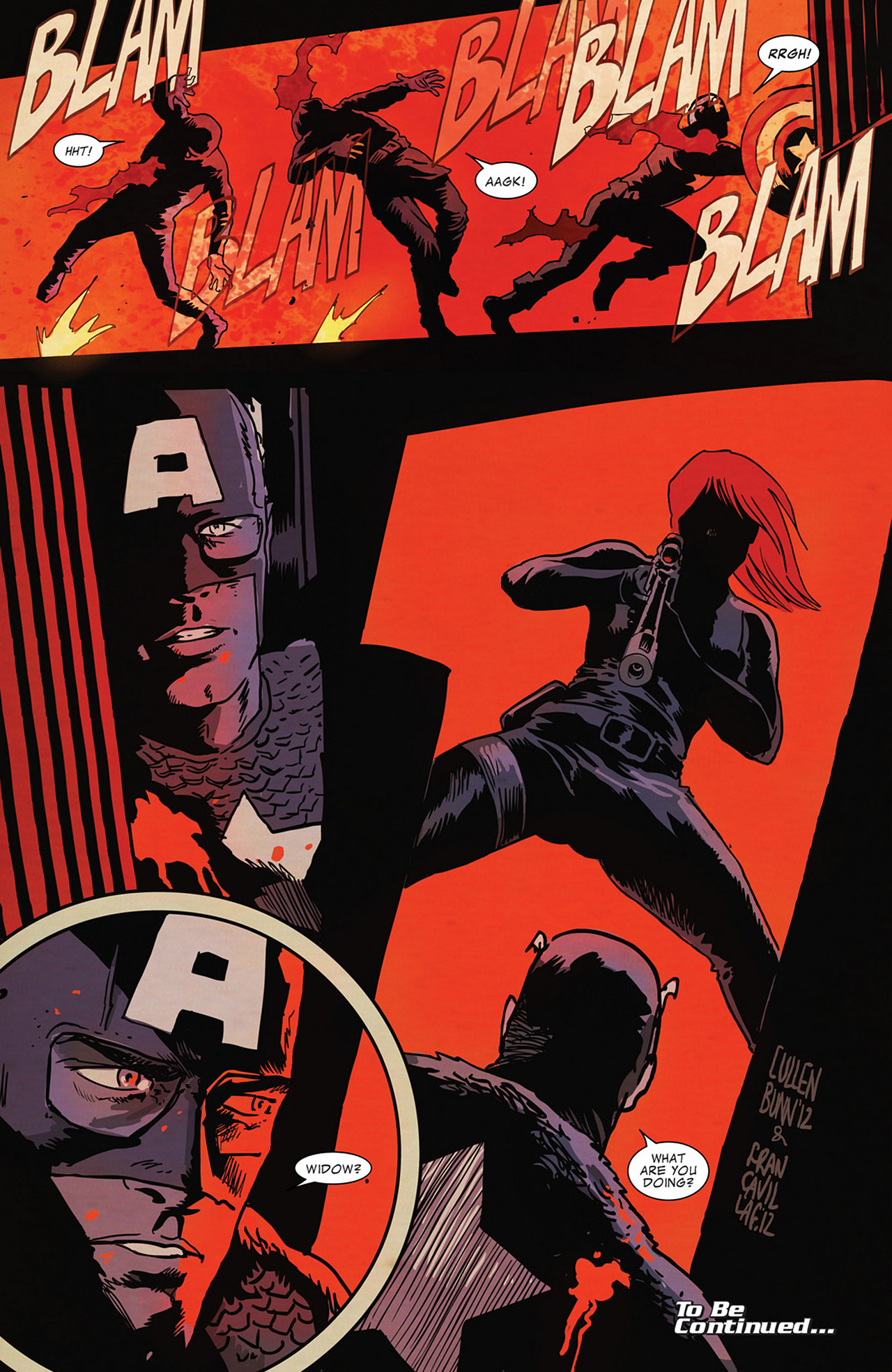 Read online Captain America And Black Widow comic -  Issue #636 - 22