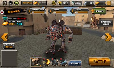 Mech Legion: Age of Robots v2.17 Apk MOD [Unlimited Money]