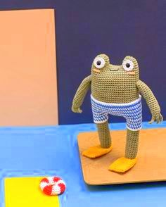 amigurumi frog crochet pattern