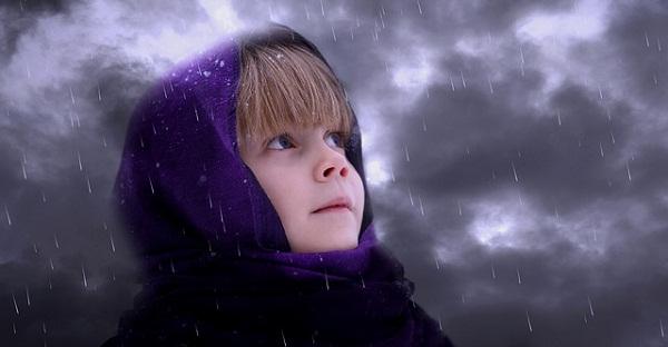 tetap tenang di tengah badai kehidupan