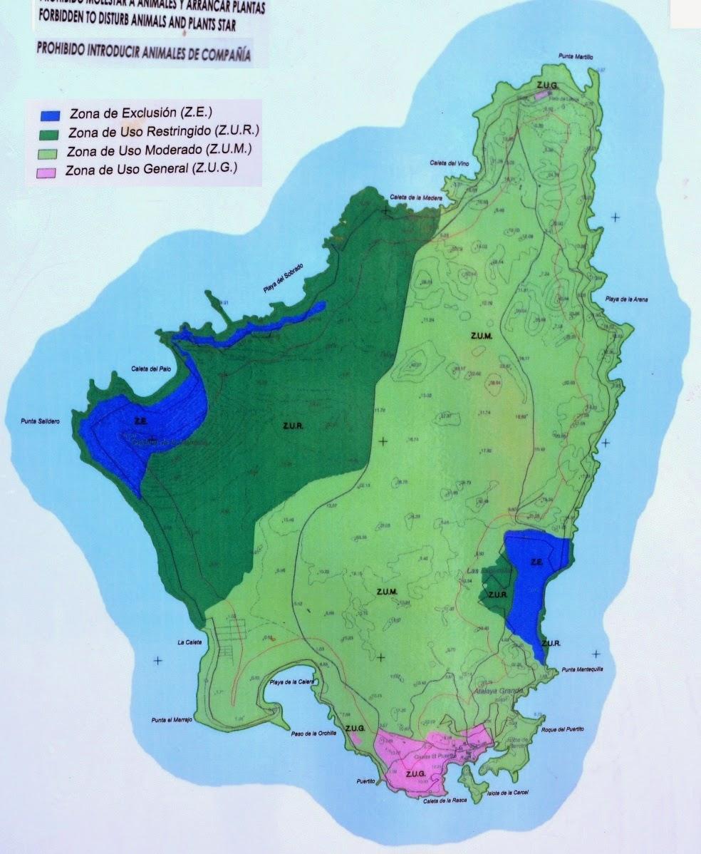 Isla De Lobos Mapa.Un Viaje Diferente Isla De Lobos