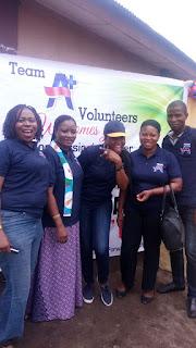 Team A+ Volunteer Group 3