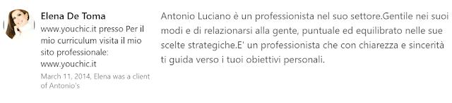 Skills Endorsements Linkedin Antonio Luciano copywriter blogger