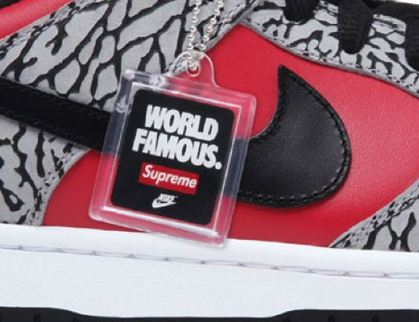 00bf0601a6b THE SNEAKER ADDICT  2012 SUPREME x Nike SB Dunk Low Sneaker (Release ...
