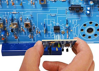 Elenco AM/FM Radio Kit (Combines ICs & Transistors)