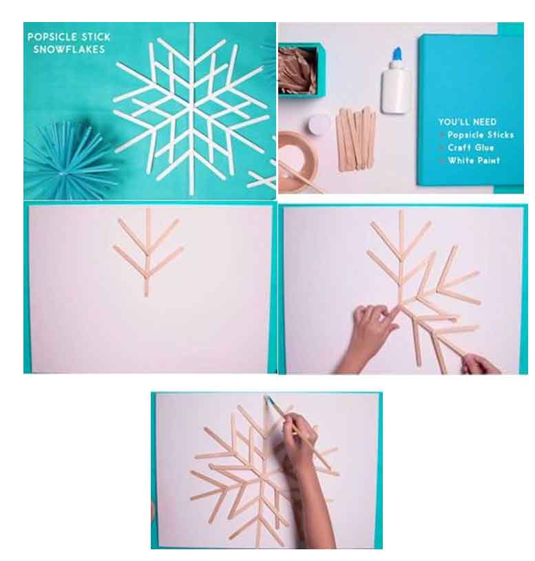Cara Membuat Hiasan Dinding Dari Stik Es Krim Pelephante