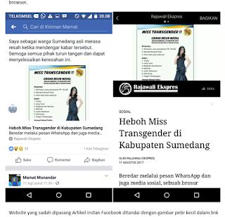 uang dari facebook, instant article