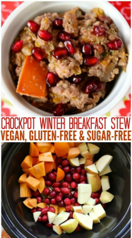 vegan winter breakfast stew