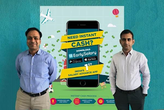 (Right to Left : Akshay Mehrotra (CEO), Ashish Goyal (CFO))