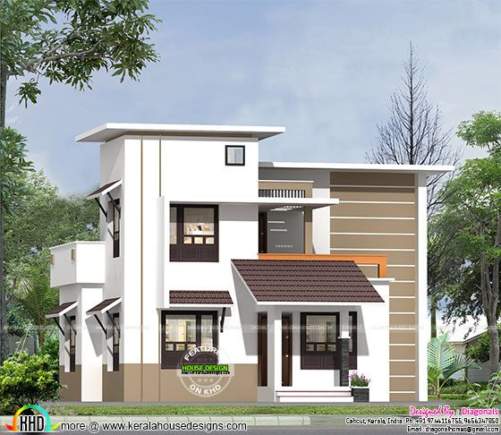 Affordable low cost home kerala home design and floor plans Low cost home design in india