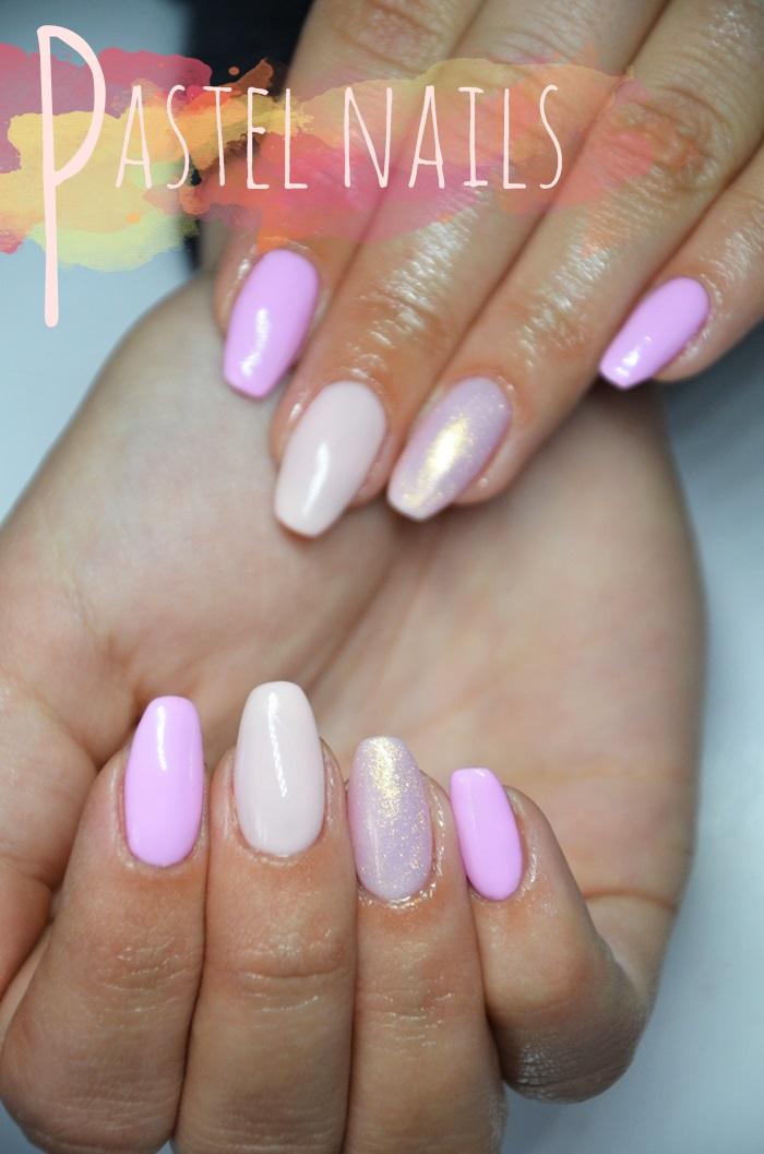 Ogromny Beauty blog: Najpiękniejsze pastelowe kolory hybryd Semilac, SPN QI07