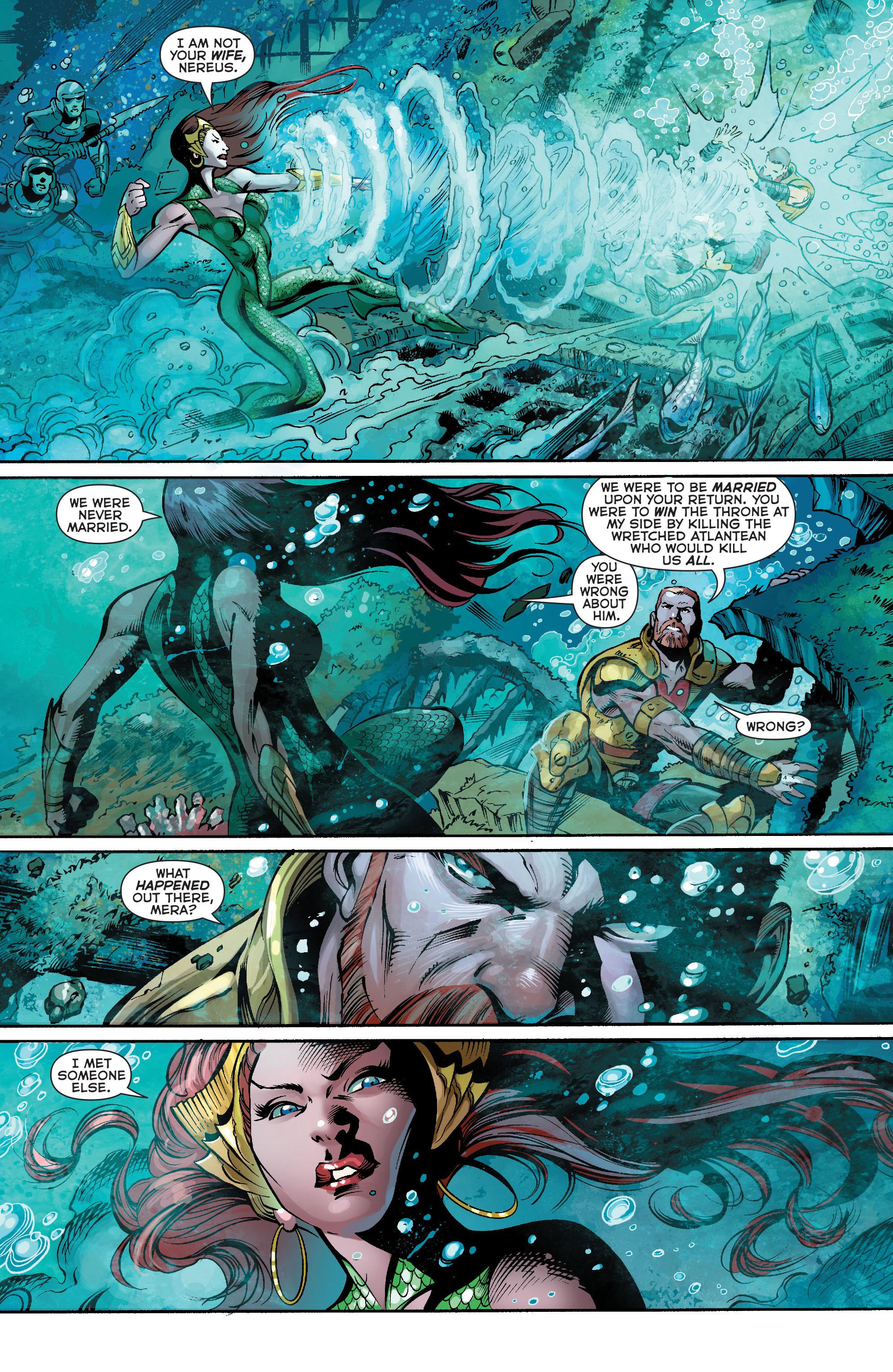 Read online Aquaman (2011) comic -  Issue #21 - 4