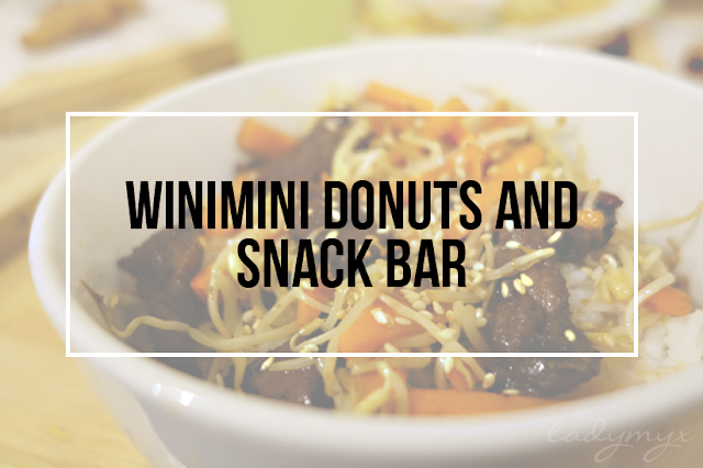 WiniMini Donuts and Snack Bar, Bauan Batangas (Closed)