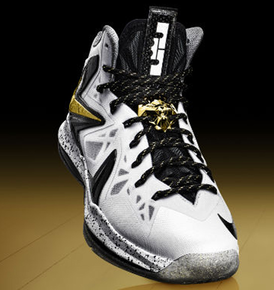 Black And White Lebron X Ps Elite | National Milk ...
