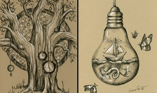 00-Lucie-Ondruskova-LucieOn-A-Glimpse-of-Fairyland-Animals-in-Drawings-www-designstack-co