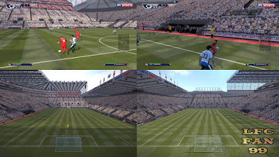 Pes 2016 St. James Park Stadium DF version By LFCFAN99