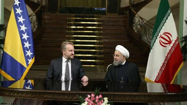 Iran and Bosnia and Herzegovina sign economic memorandum of understanding (MoU)