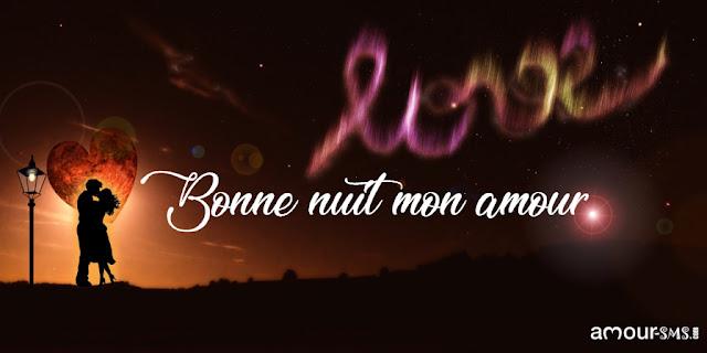 Message de bonne nuit romantique