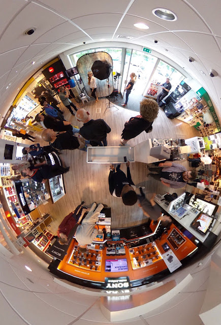 Park Cameras Burgess Hill store taken by Derrick Clarke, using the Ricoh Theta V 360 camera