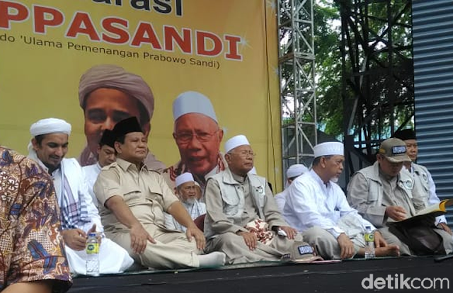 Lewat Rekaman Suara, Habib Rizieq Ingatkan Prabowo Soal Aksi 411