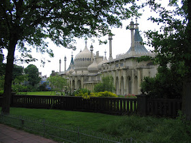 Brighton Pavilion - view from the Steyne