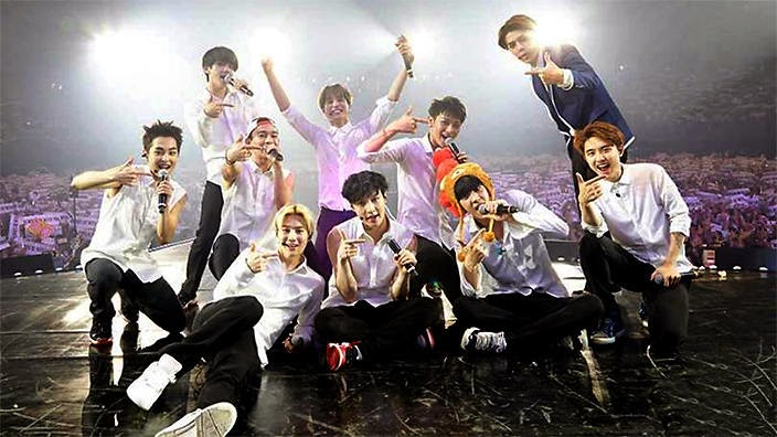 Idol groups with synchronized choreographies  KPOP KFANS