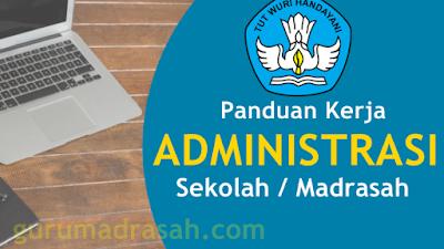 Panduan Kerja Tenaga Administrasi Sekolah/Madrasah Terbaru