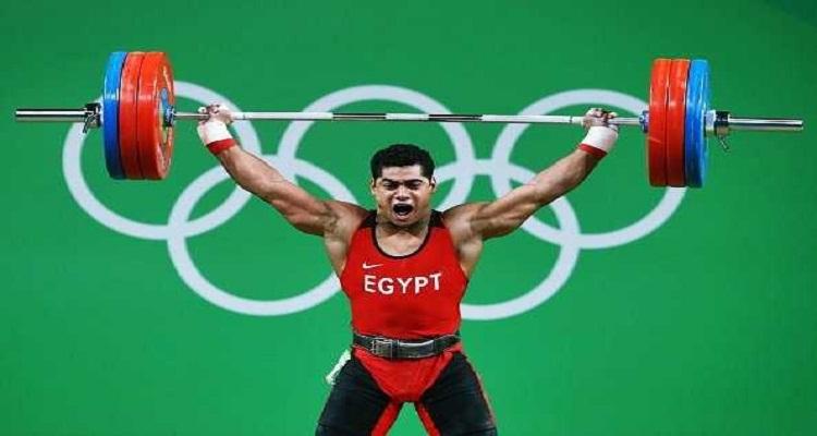لقطة كوميدية مذهلة لصاحب برونزية مصر على منصة التتويج بأولمبياد ريو 2016