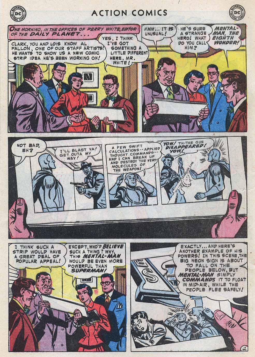 Read online Action Comics (1938) comic -  Issue #196 - 4