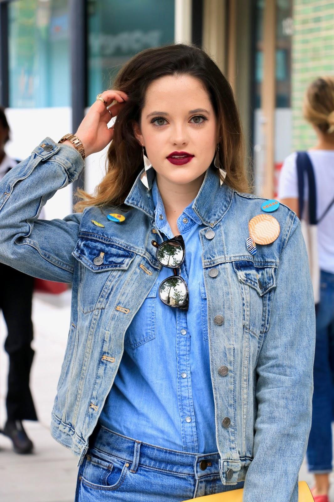 Nyc fashion blogger Kathleen Harper wearing street style