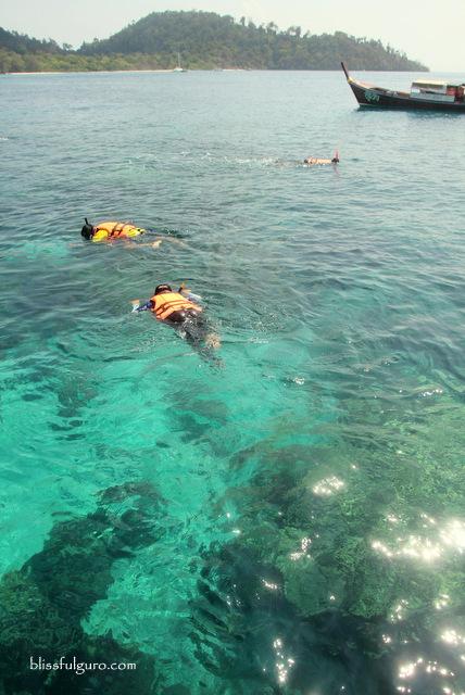 Snorkeling Koh Rok Thailand