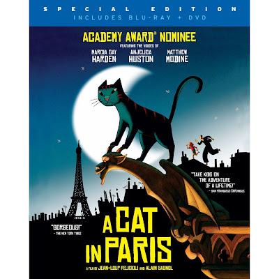 A Cat in Paris Blu-ray