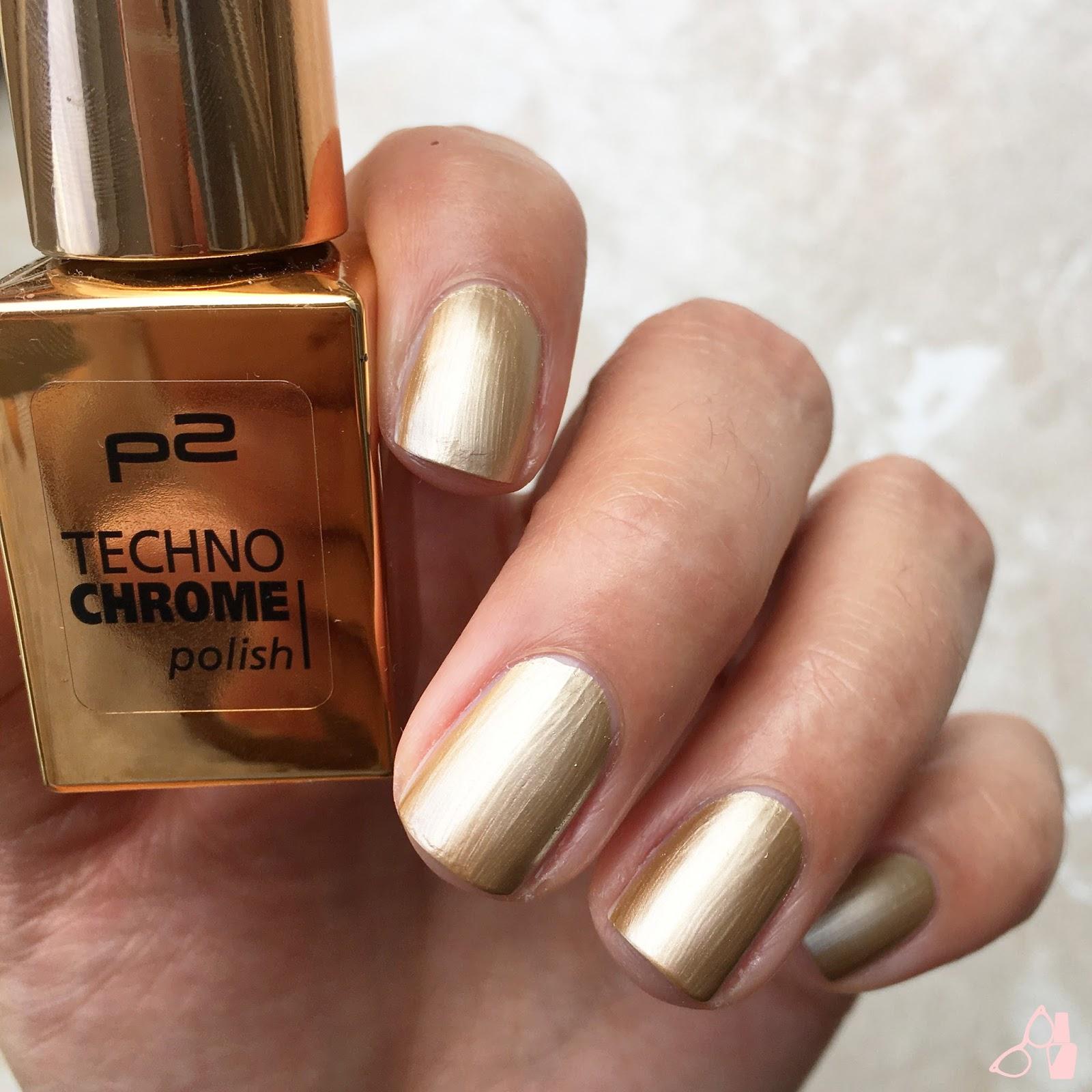 Lacknerds: Test: P2 Techno Chromes – champagne glare