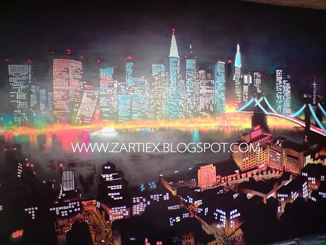 Decorar y pintar mi cuarto o mi habitacion con murales de Graffitis en Madrid 1