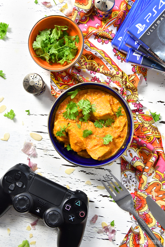 Traditionelles Chicken Korma aus Indien