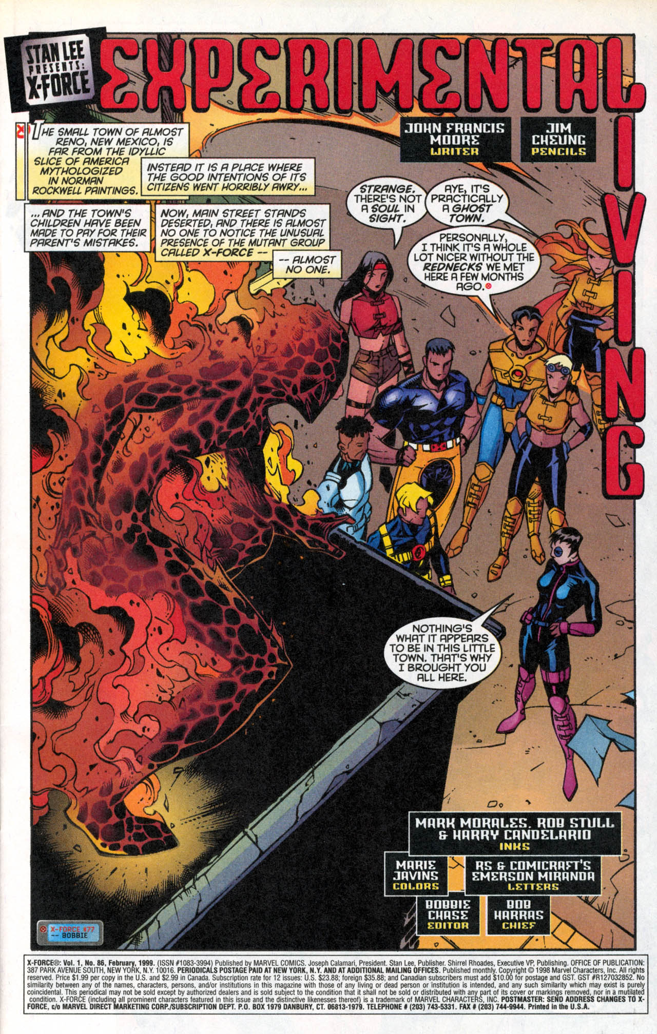 Read online X-Force (1991) comic -  Issue #86 - 4